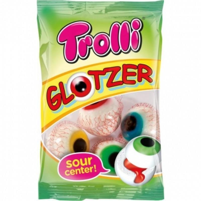 Желейки Trolli glotzer мармелад-очі 75г