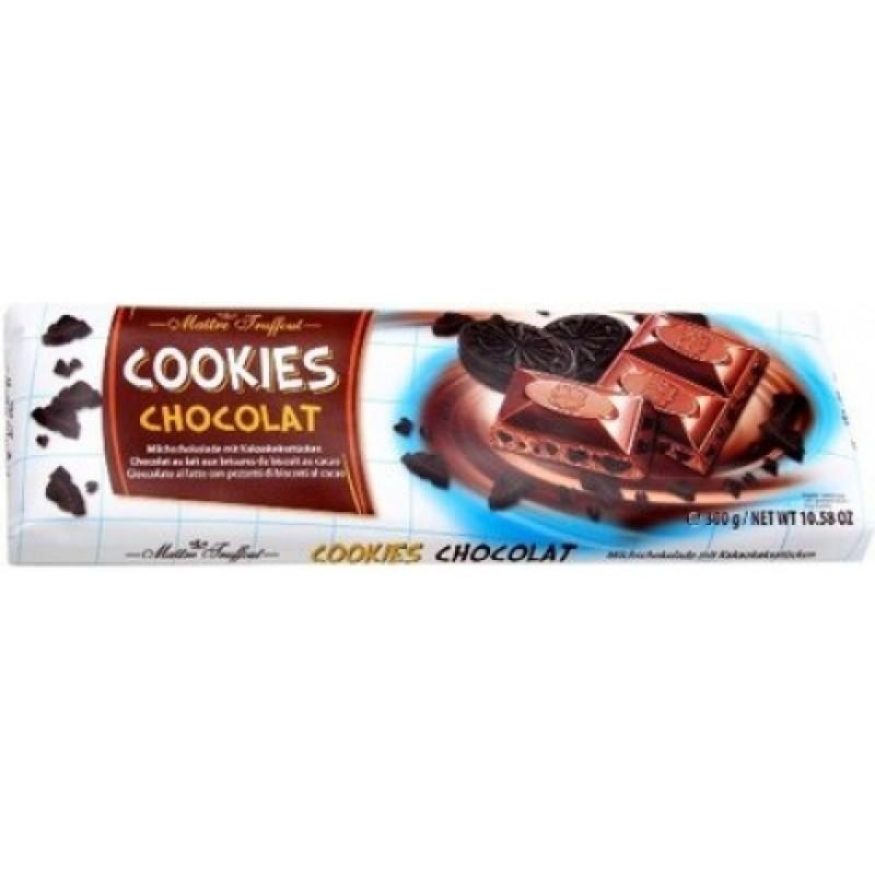 Шоколад Maitre Truffout молочний з печенням 300г