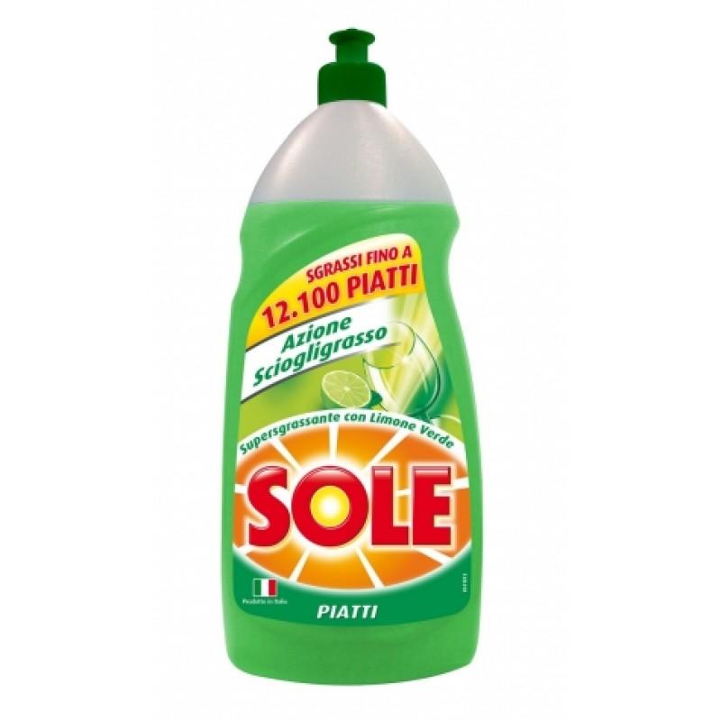 Засiб Sole piatti Limone Verde для миття посуду 1л