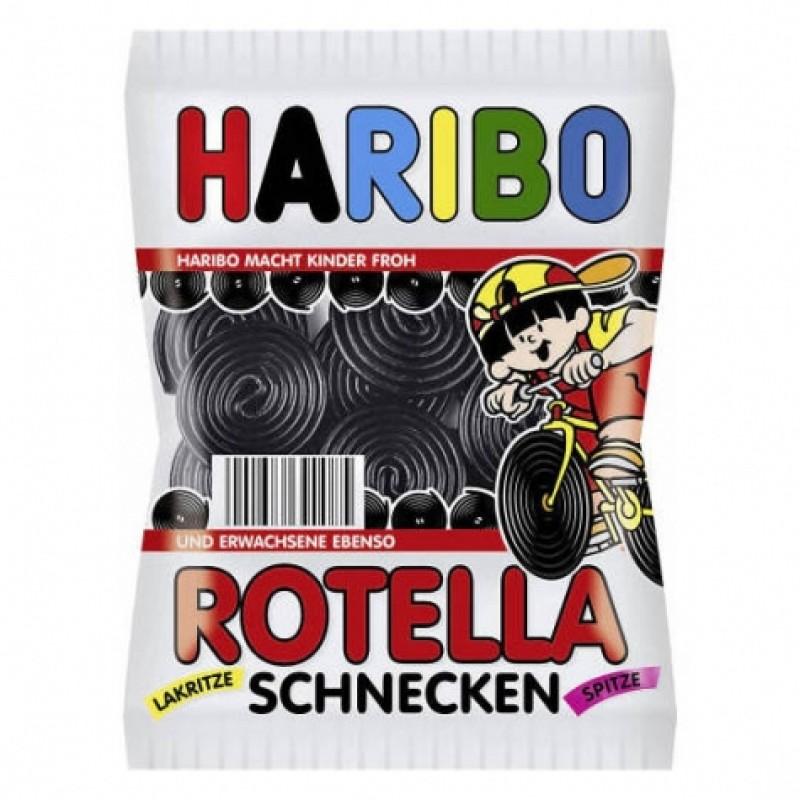 Желейки Haribo rotella зі смаком лакриці 200г