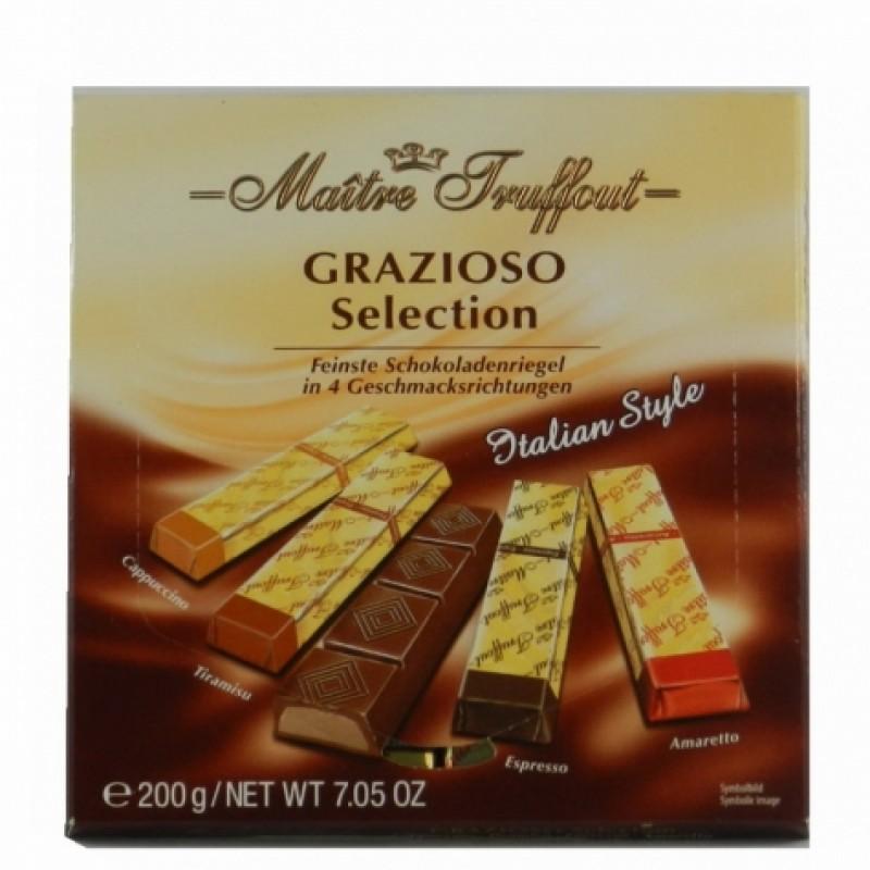 Шоколад Maitre Truffout grazioso selection 200г