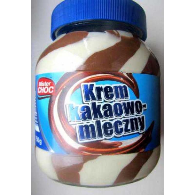 Паста шоколадна Mister Choc 400г