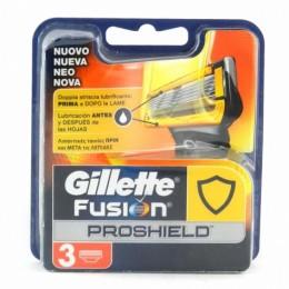 Леза Gillette Fusion ProShield 3шт
