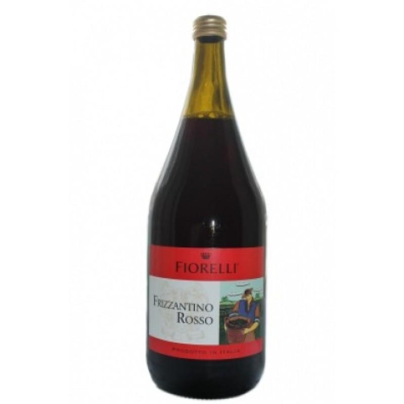 Вино Fiorelli Frizzantino rosso 7,5% 1,5л