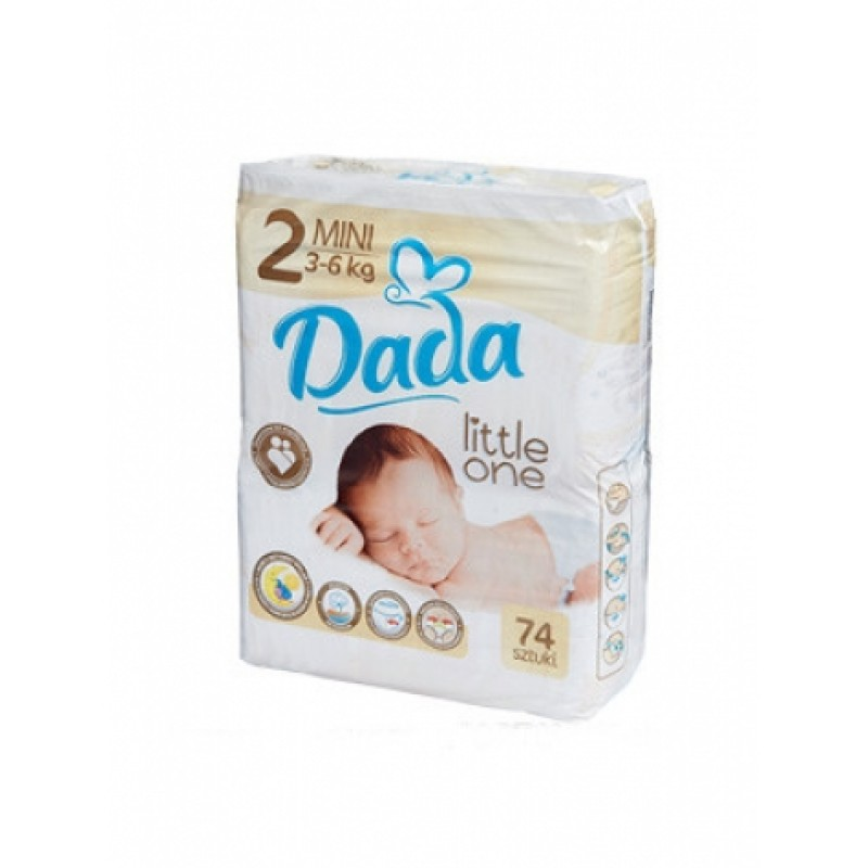 Dada 2 Little One 3-6кг 74шт