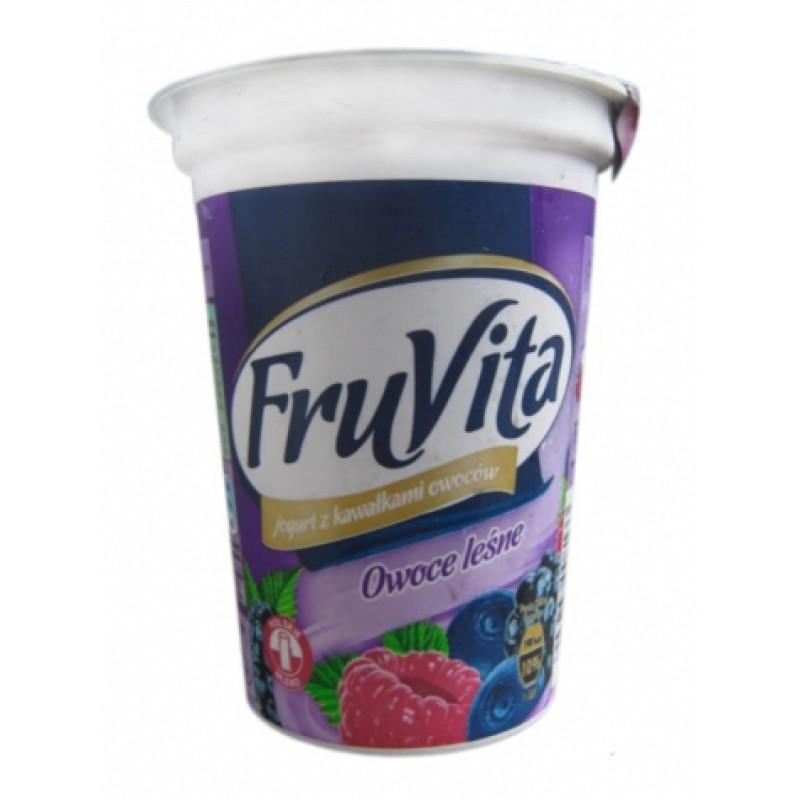 Йогурт FruVita лісова ягода 400г