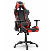 Геймерське крісло EAGO EG-238 червоне з регульованими підлокітниками