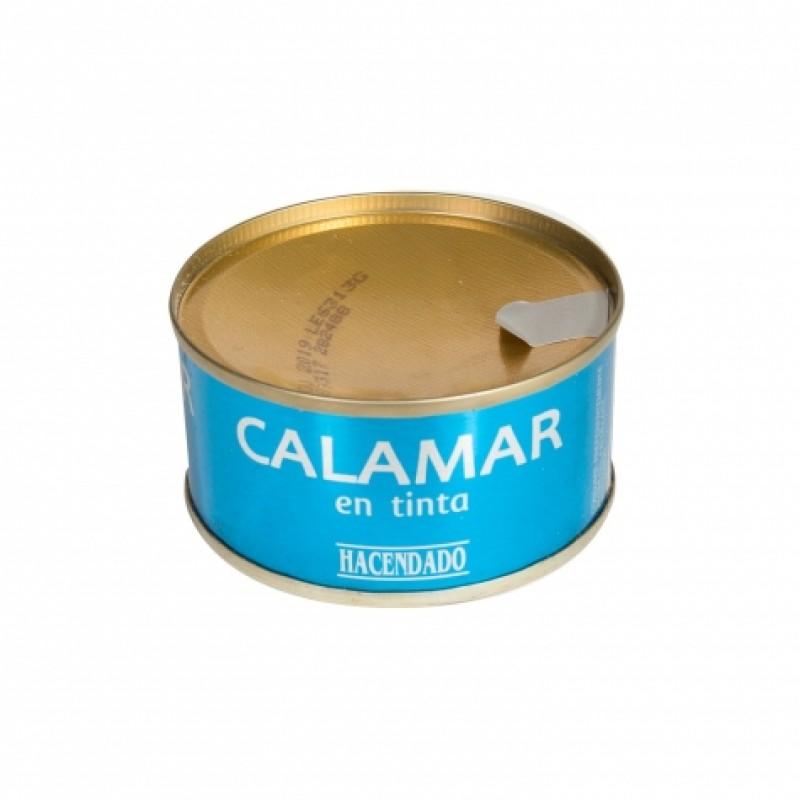 Кальмар Hacendado з чорнилом каракатицi 80г