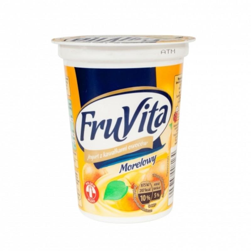 Йогурт FruVita персик 400г