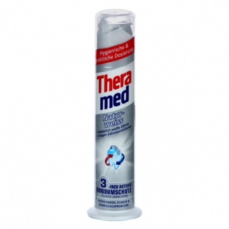Зубна паста Thera med Naturweiss 100мл