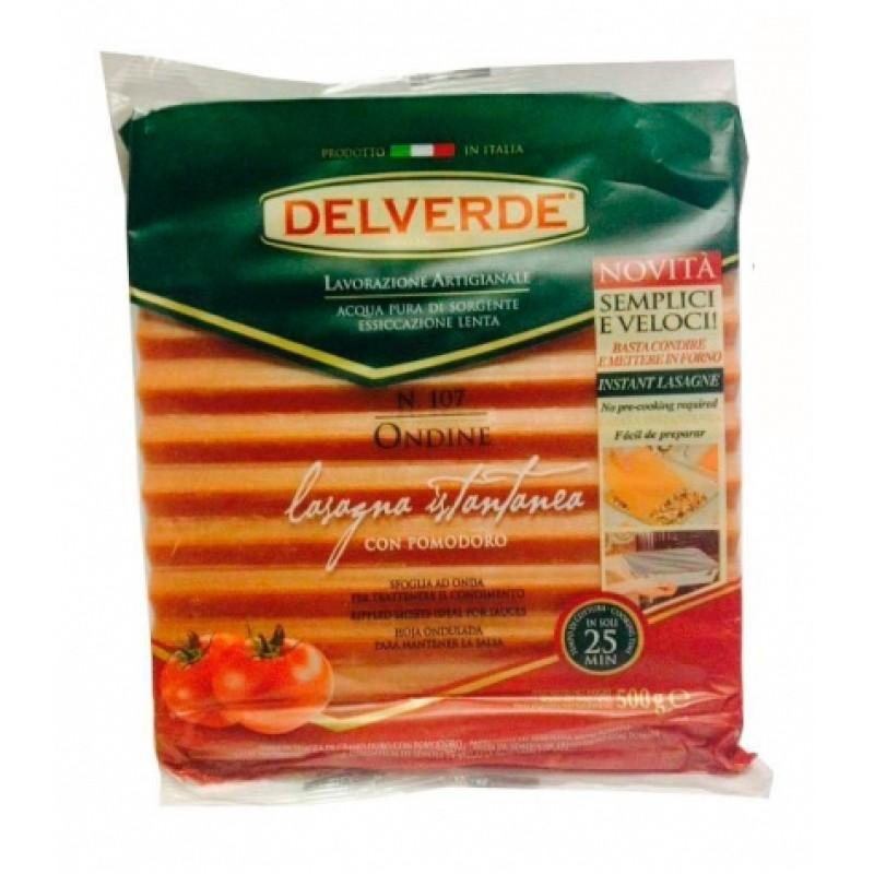 Лазань Delverde n107 з томатами 500г
