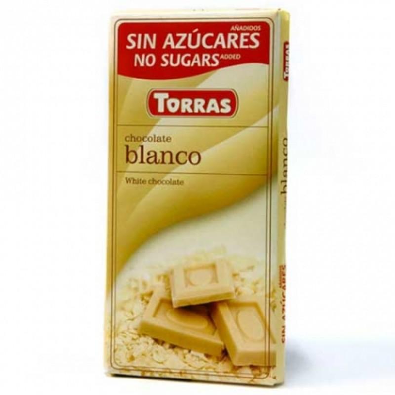 Шоколад Torras білий 75г