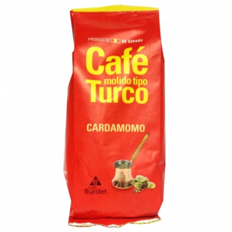 Кава мелена Cafe Burdet для турки з кардамоном 100г