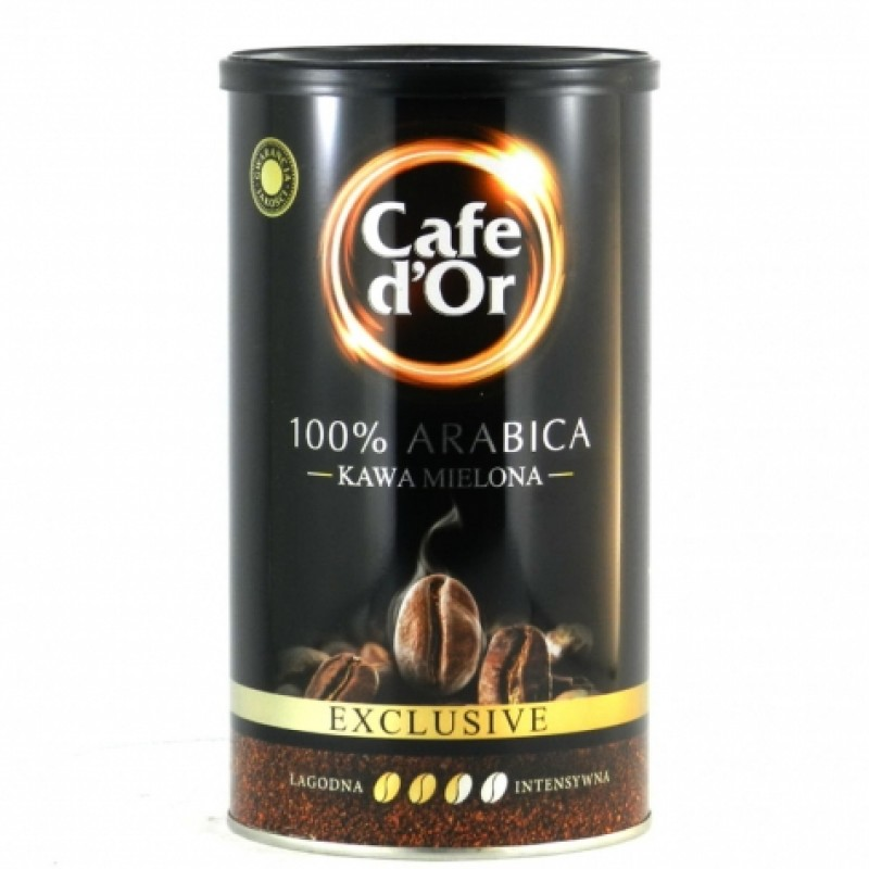 Кава мелена Cafe dOr Exclusive 100% арабiка 500г ж\б