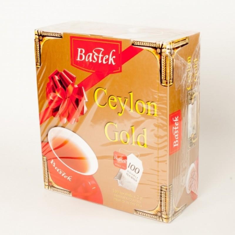 Чай Bastek чорний цейлонський 100пакетиків