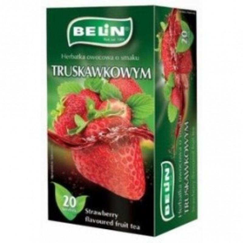 Чай Belin полуниця 20пакетіків