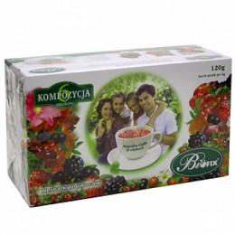 Чай Biofix Композиція 6 смаків 60пакетиків