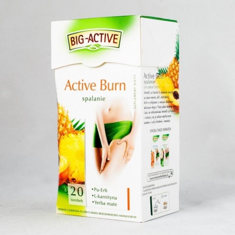 Чай червоний Big-Active для схуднення персик та ананас 20пакетиків