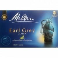 Чай чорний Milton Earl Grey з бергамотом 80пакетиків