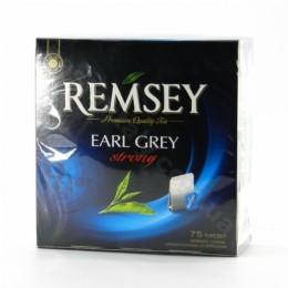 Чай чорний Remsey з бергамотом 75пакетиків