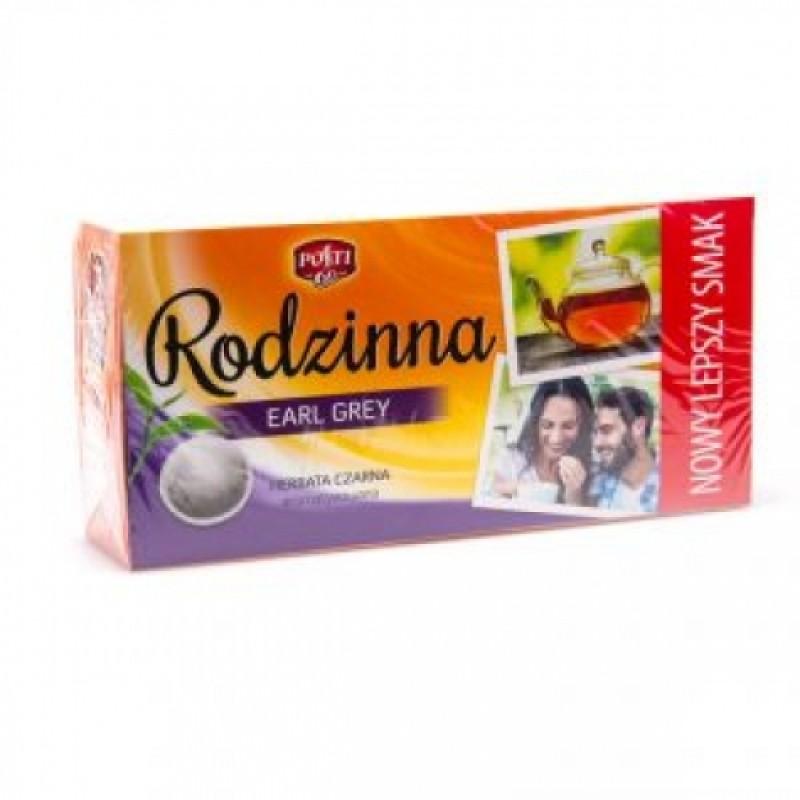 Чай чорний Rodzinna Earl Gray 80пакетиків