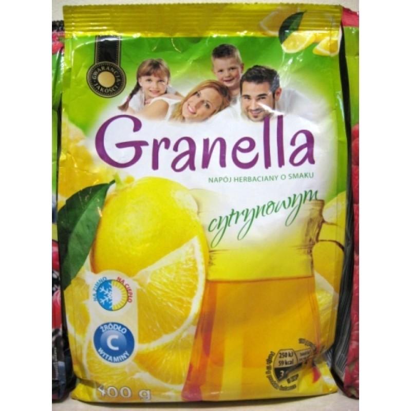 Чай Granella холодный гранульований лимон 400г