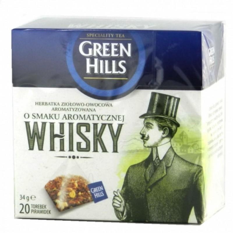 Чай Green Hills з ароматом вiскi 20пірамідок
