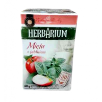 Чай травяний Herbarium мята та яблуко 30пакетиків