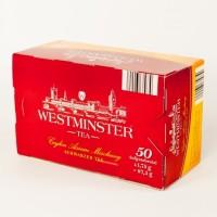 Чай Westminster чорний 50пакетиків
