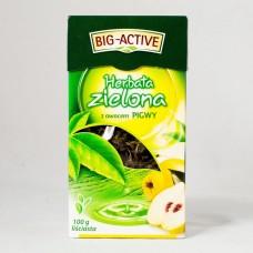 Чай зелений Big-Active з айвою 100г