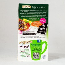 Чай зелений Big-Active з айвою та гранатом 20пакетиків
