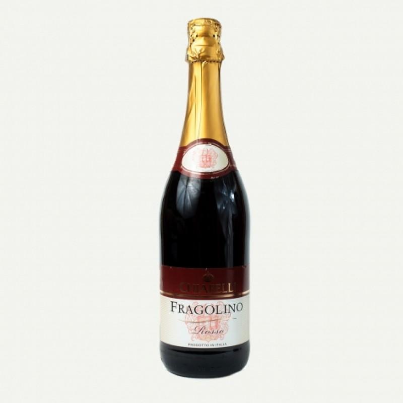 Вино червоне Сhiarelli fragolino rosso 7,5% 0,75л