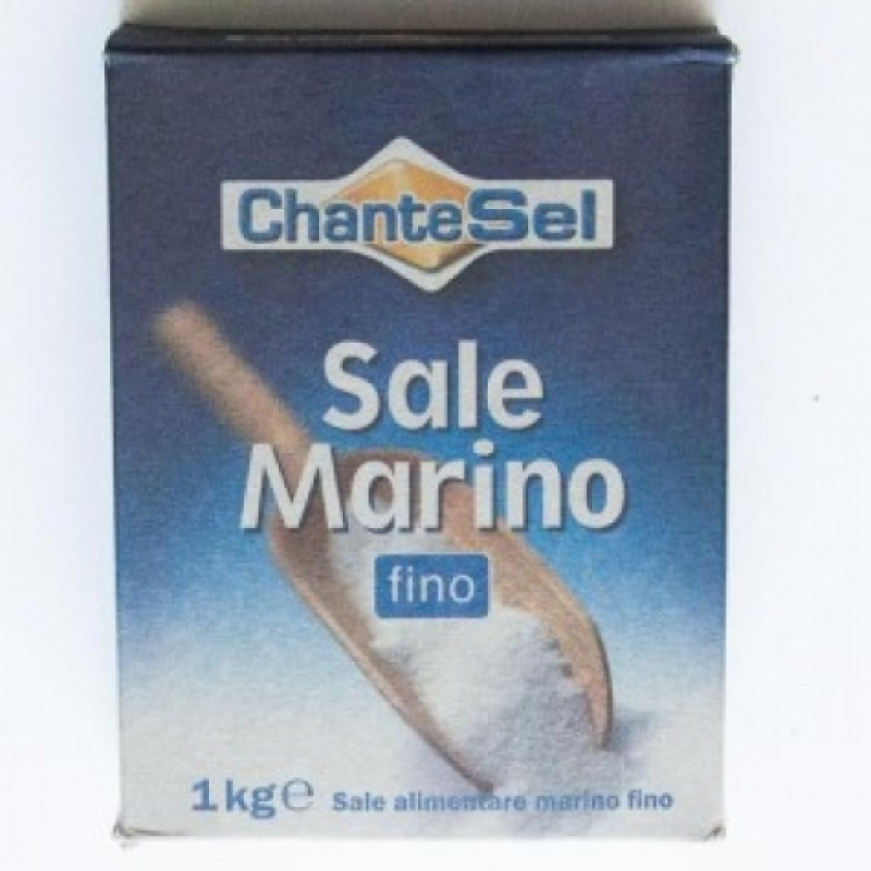 Сіль Chante Sel Sale Marino fino морська харчова 1кг