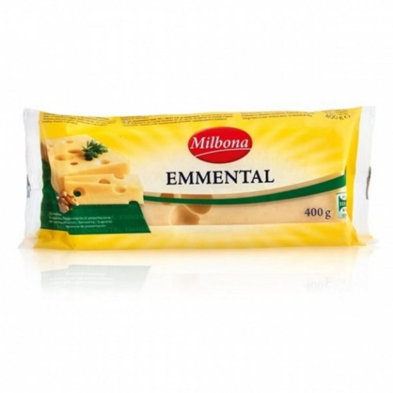 Сир Milbona Ементаль 400г