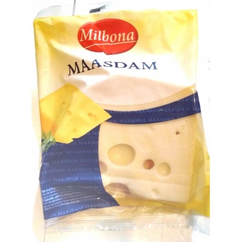Сир Milbona Maasdam ціна за 1кг