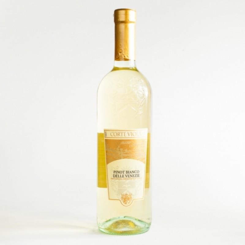Вино Corte Viola pinot bianco delle venezie 11,5% 0,75л