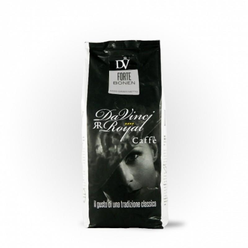 Кава в зернах Da Vinci Forte 80% Arabica 1кг