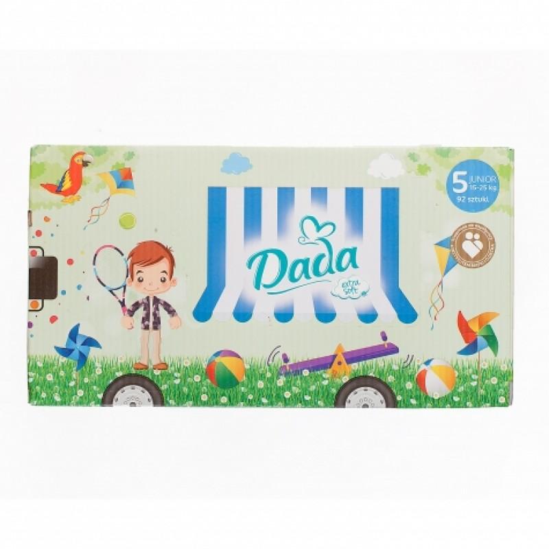Підгузки дитячі Dada 5 ExtraSoft Junior 15-25кг 92шт