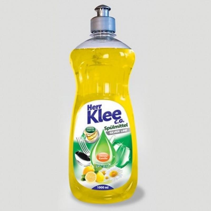 Для миття посуду Klee Spulmittel Лимон та ромашка 1л