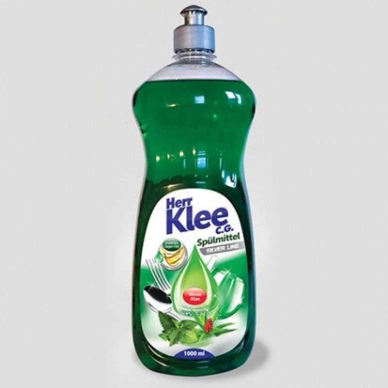 Для миття посуду Klee Spulmittel М'ята та алое 1л