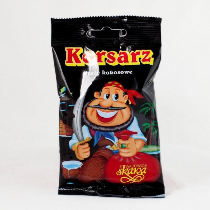 Драже Skawa кокос в шоколадній глазурі 70г