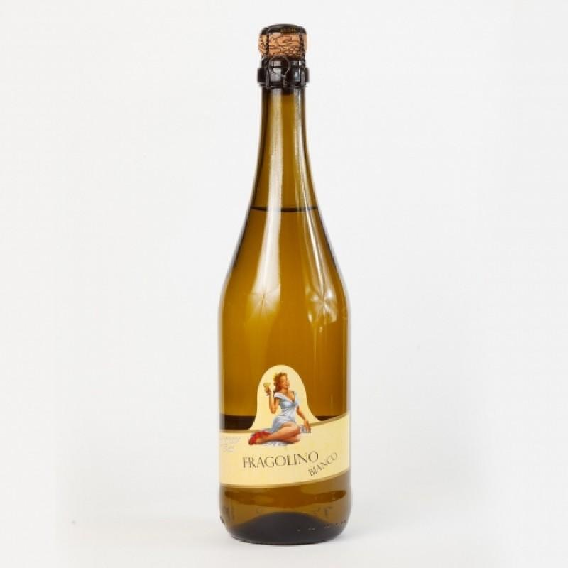 Вино бiле Fragolino Francesca bianco 0,7л