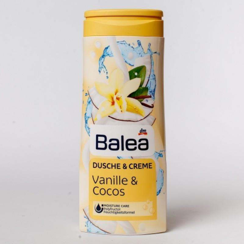 Гель для душу Balea кокос та ванiль 300мл