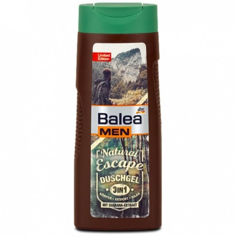 Гель для душу Balea men Зв1 Natural Escape 300мл