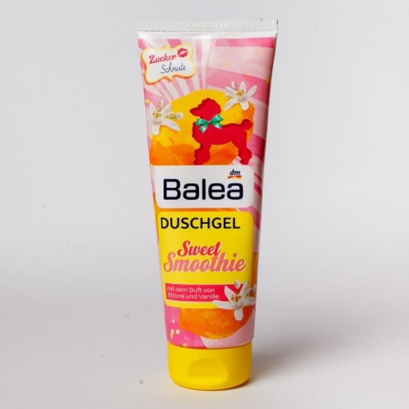 Гель для душу Balea Sweet Smoothie ванiль та лимон 250мл