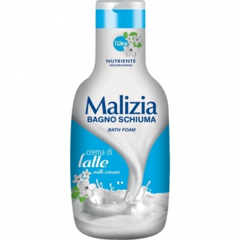 Гель для душу Malizia молоко та жасмин 1л