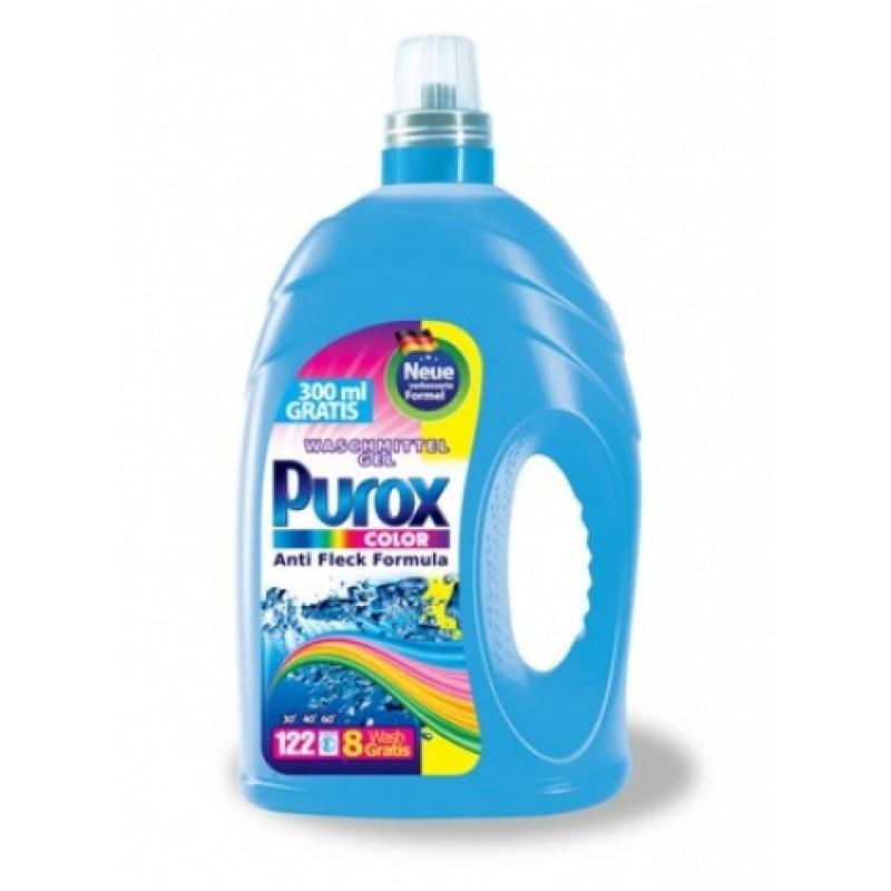 Гель для прання Purox color 4л 130прань