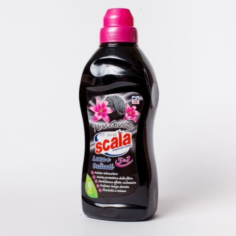 Гель концентрат для прання Scala для чорного і делiкатного 700мл