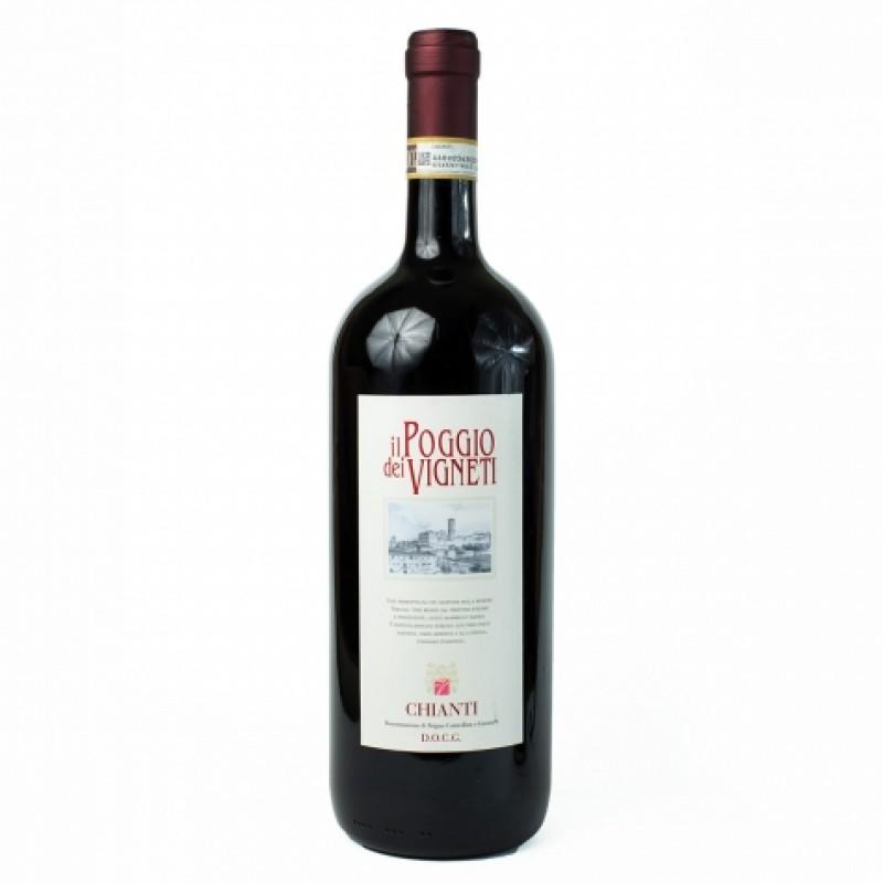 Вино червоне il Poggio dei Vigneti Chianti DOCG 12% 1,5л