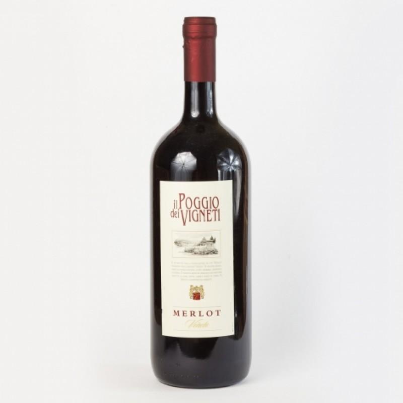 Вино червоне il Poggio dei Vigneti Merlot veneto 11% 1,5л